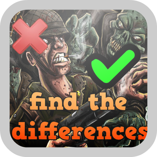 Zombie find the differences LOGO-APP點子