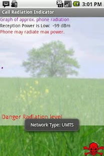Call Radiation Indicator - screenshot thumbnail