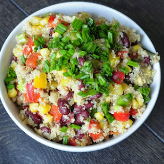 Southwest Quinoa Salad.