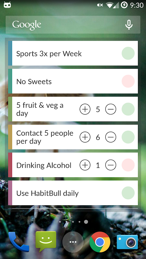 HabitBull - Habit Tracker - screenshot
