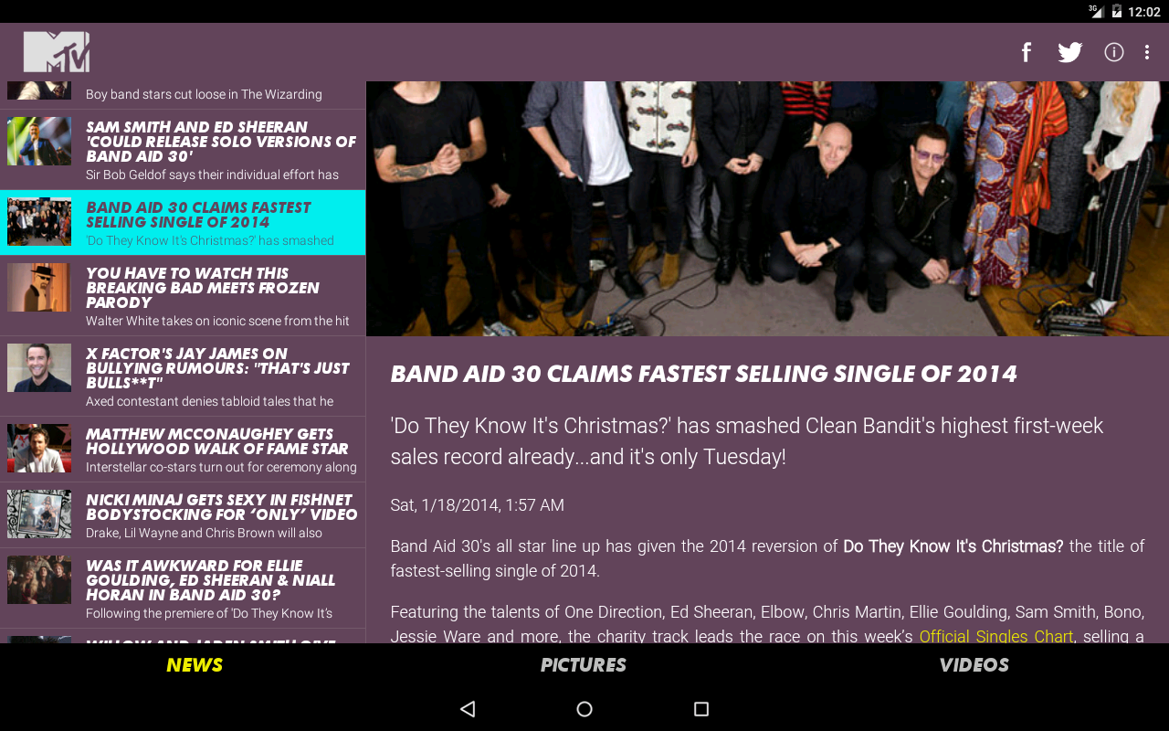 MTV News (UK) - screenshot