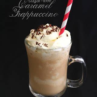 Homemade Caramel Frappuccino.