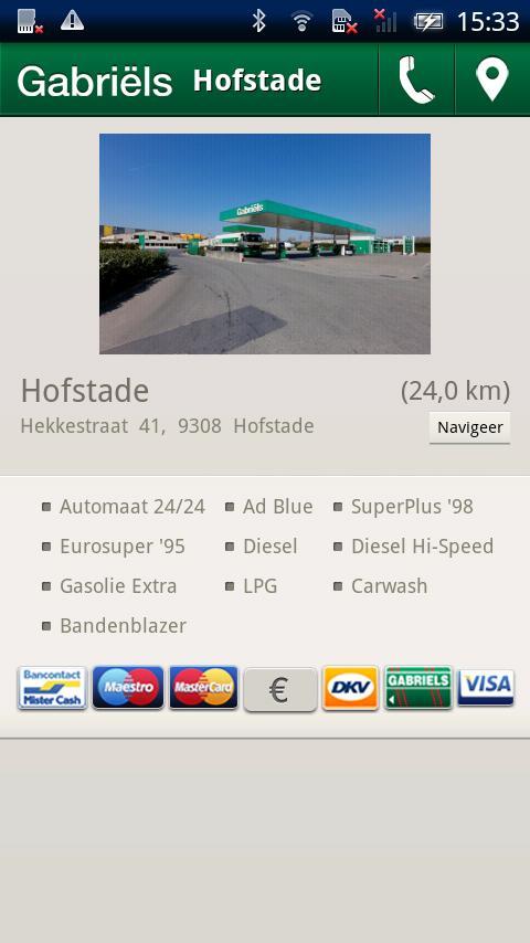 Gabriëls Station Finder- screenshot