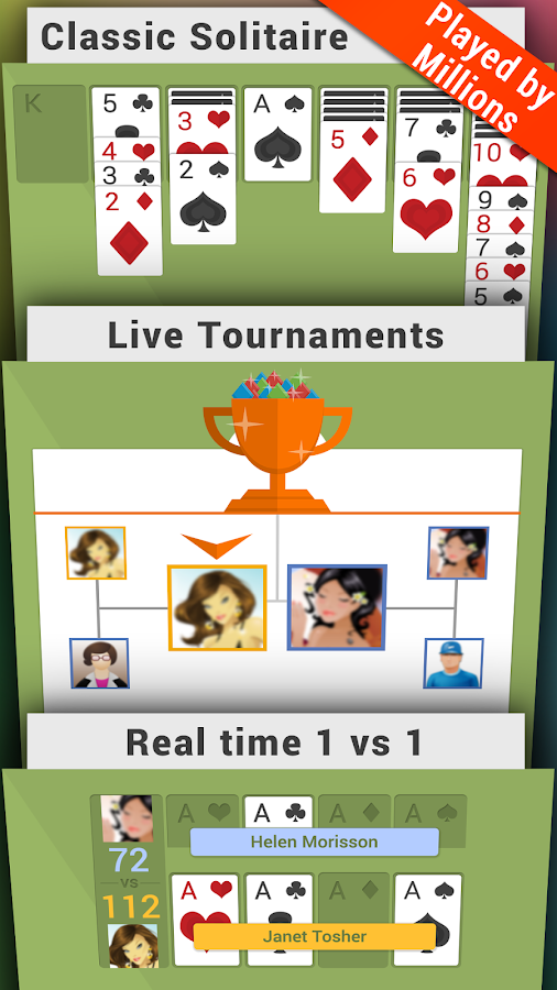 Solitaire Arena - screenshot