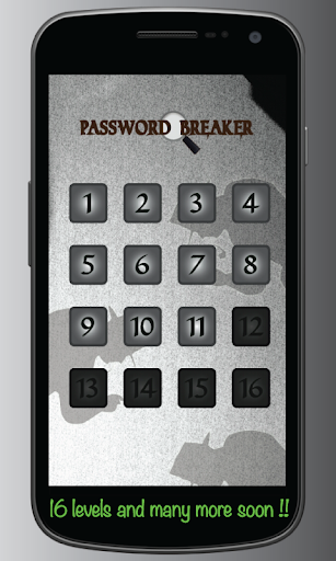 【免費解謎App】Password Breaker-APP點子