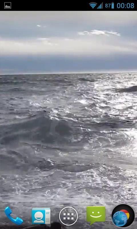 Ocean Waves Live Wallpaper HD- screenshot