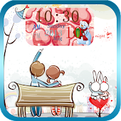 Valentine's Day Clock Free&Pro