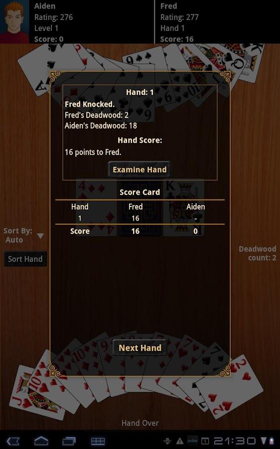 Gin Rummy Pro - screenshot