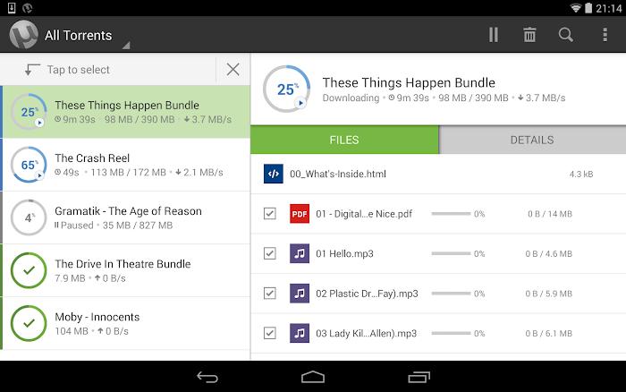 µTorrent Pro - Torrent App- screenshot