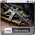 Guns Lock Screen Wallpaper icon