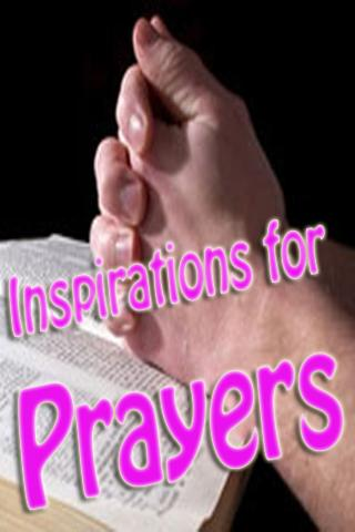 Inspirations for Prayers
