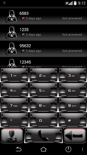 ExDialer Metal Theme