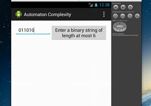Automaton complexity