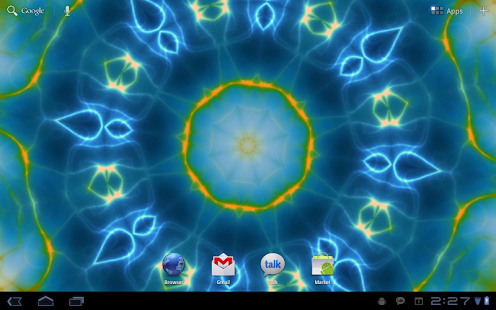 Prismatic Live Wallpaper - screenshot thumbnail