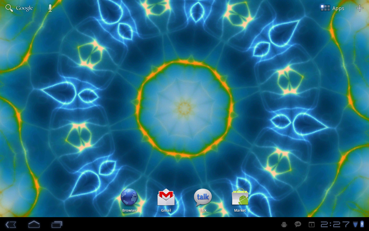 Prismatic Live Wallpaper - screenshot