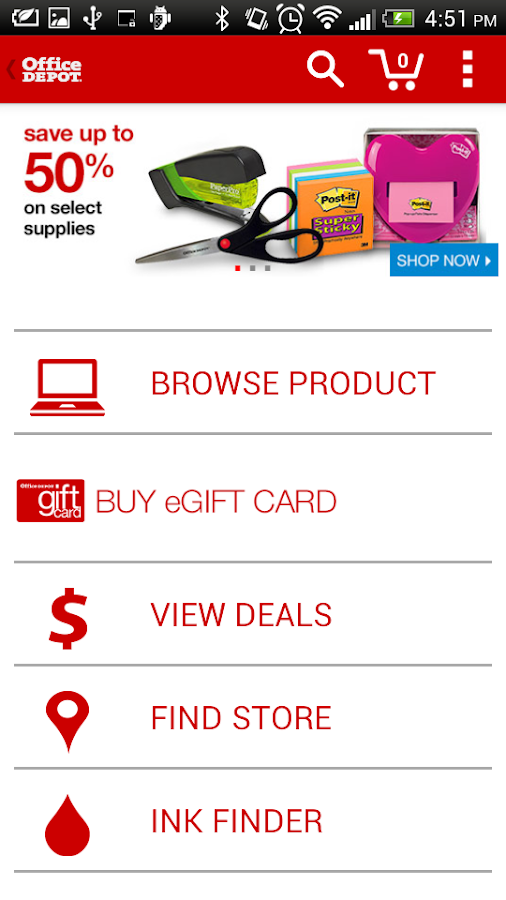 Office Depot® - screenshot