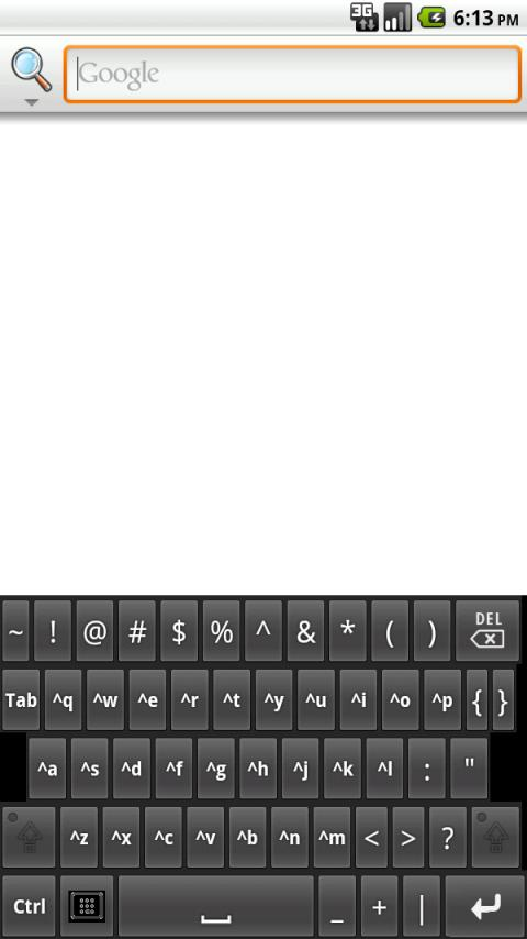 My Tablet Keyboard- screenshot