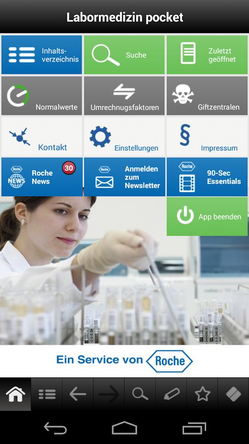 Labormedizin pocket - screenshot