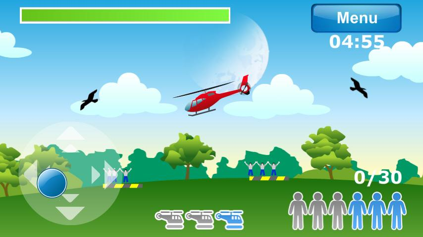 Helicopter Air Rescue LITE- screenshot