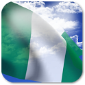 3D Nigeria Flag icon