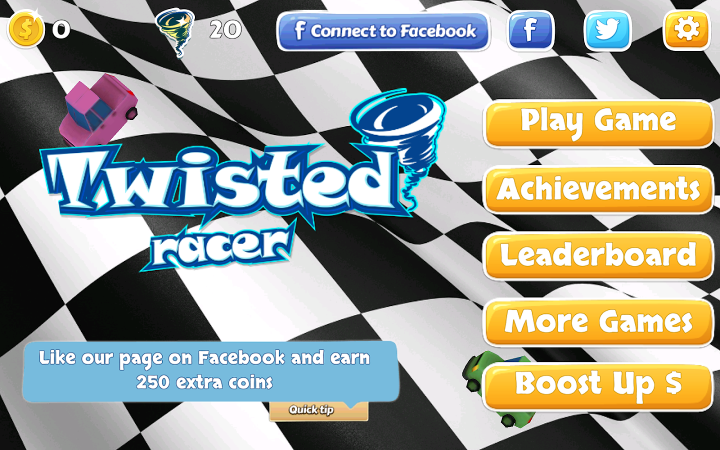 Twisted Racer