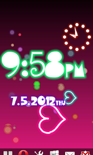 Neon Flow! Live Wallpaper - screenshot thumbnail