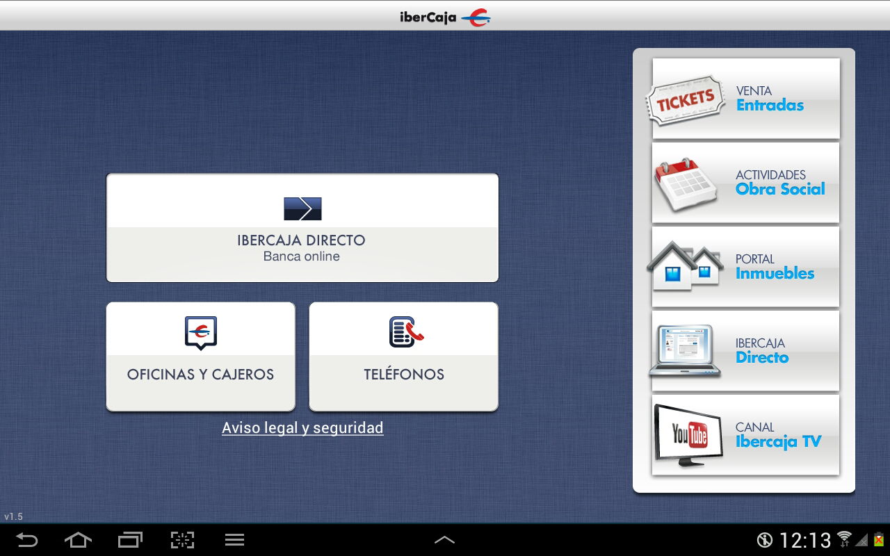 Ibercaja aplicaciones de android en google play for Oficinas ibercaja