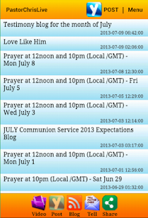 PastorChrisLive- screenshot thumbnail