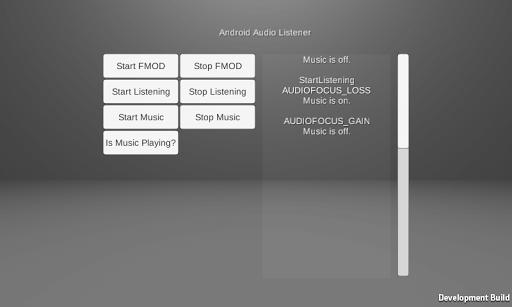 AudioFocusChangeListener Demo