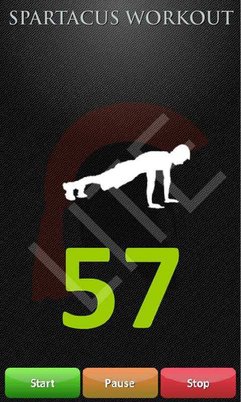 Spartacus Workout Lite - screenshot