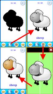 【免費教育App】有聲動物圖卡/拼圖-APP點子