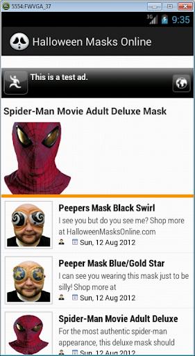 Halloween Masks Online