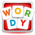 Wordy Free Word Scrabble Game icon