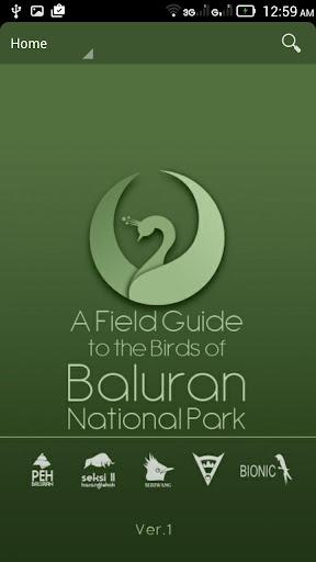 Field Guide Baluran Birds