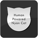 Human Powered Nyan Cat icon