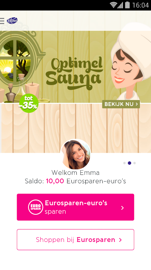 Optimel Eurosparen- screenshot