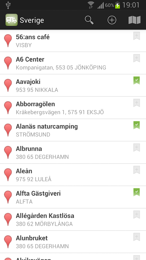 Stellplatz Scandinavia - screenshot