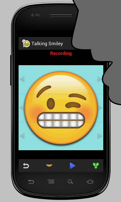 Talking Smiley- screenshot