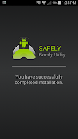 Screenshot of Safely Family Utility