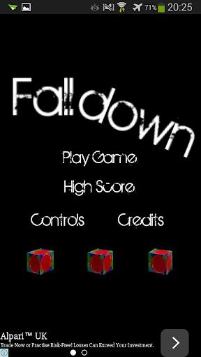 Falldown ball