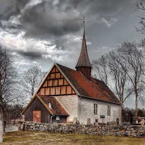 Ingedal-Church Norway by Dirk Rosin - Buildings & Architecture Public & Historical ( norwegen, kirchen, kirke, østfold, norge, ingedal-kirke, norway, architektur/gebaeude,  )