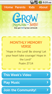 Grow Proclaim Serve Mobile