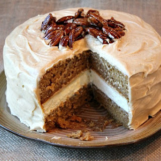 Pumpkin Cheesecake Cake.