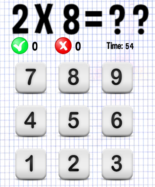 Multiplication game android apps on google play - Times table racing car game ...