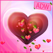 Valentine Heart Theme for ADW