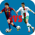 Messi VS Ronaldo icon