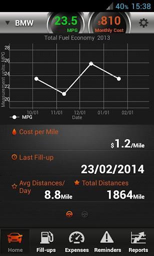 My Car - Fuel log Tracker