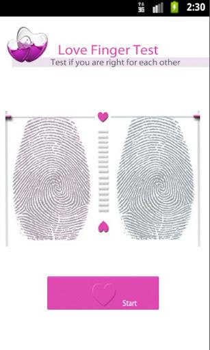 爱手指测试