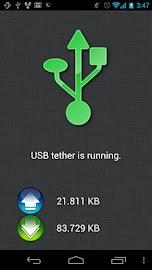 ClockworkMod Tether (no root) Screenshot 2