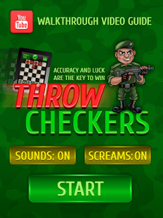 Throw checkers Lite- screenshot thumbnail